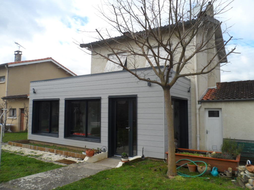 Extension maison de ville à Albi, façade